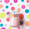 Rosy Cheeks Milk Bottle Candle