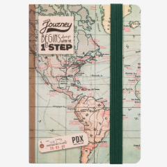 The Journey Map Notebook