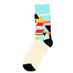 graphic House socks