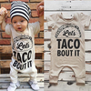 Let's Taco About It Romper