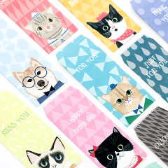 Animal portrait gift envelopes