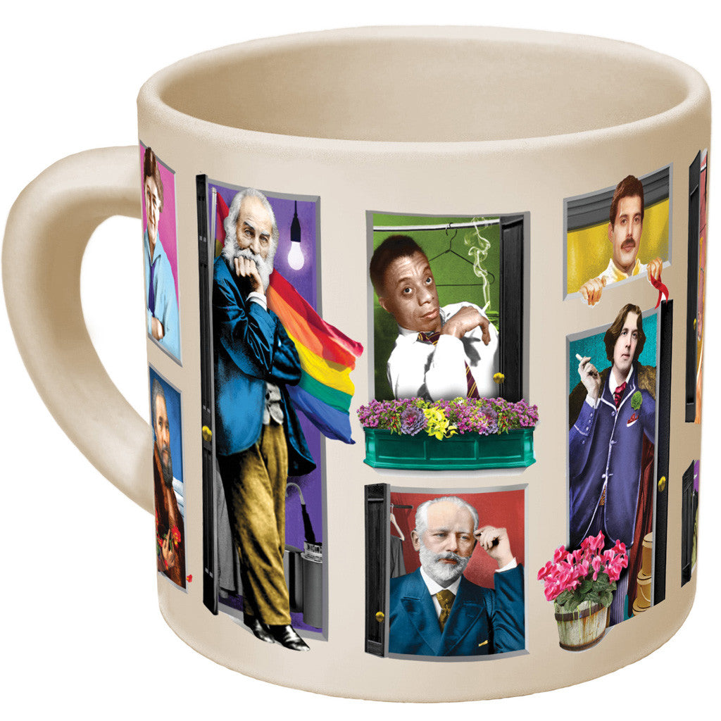 Great Gays Out of the Closet - Transforming Mug