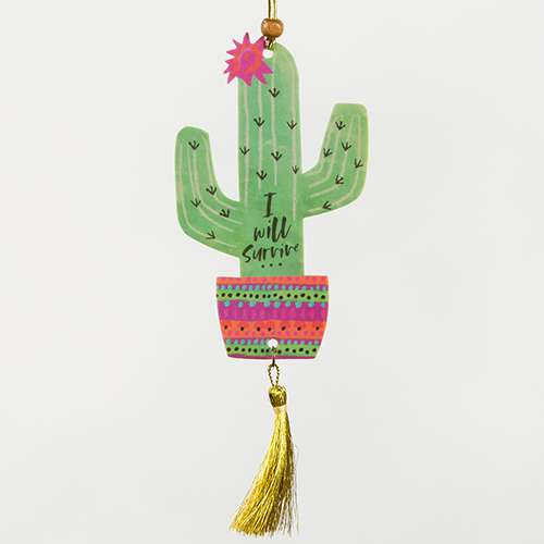 I will survive cactus air freshener