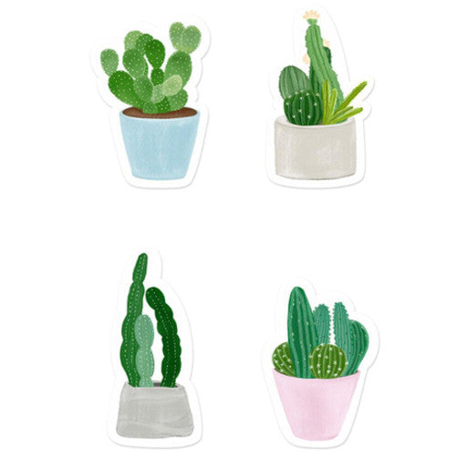 Cactus Succulent Sticky Notes