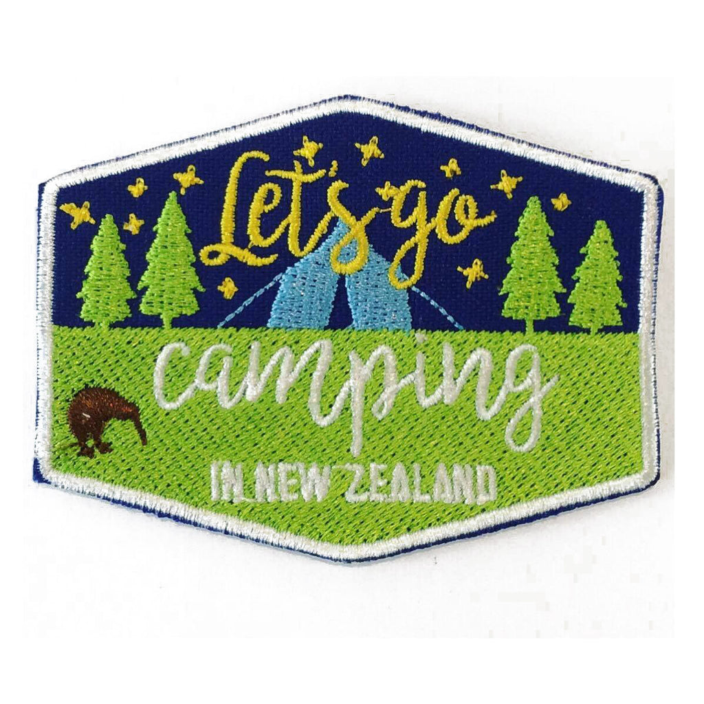 New Zealand Camping Patch