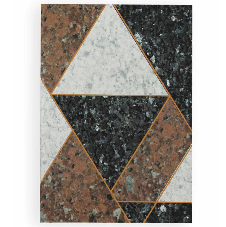 A5 Granite Inlay Notebook