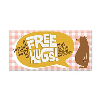 Free Hugs Milk Chocolate