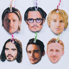 Celebrity gift tags- Basic hotties pack