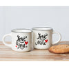 love you more mini mug duo