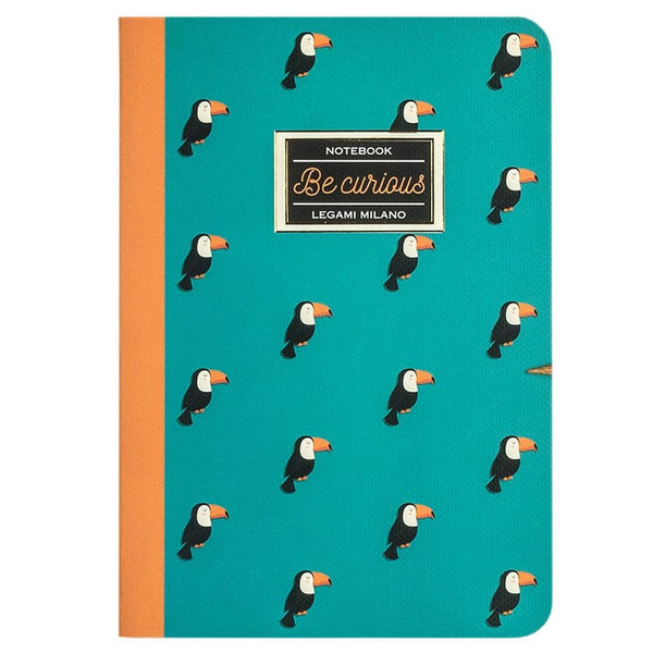 Toucan notebook A5