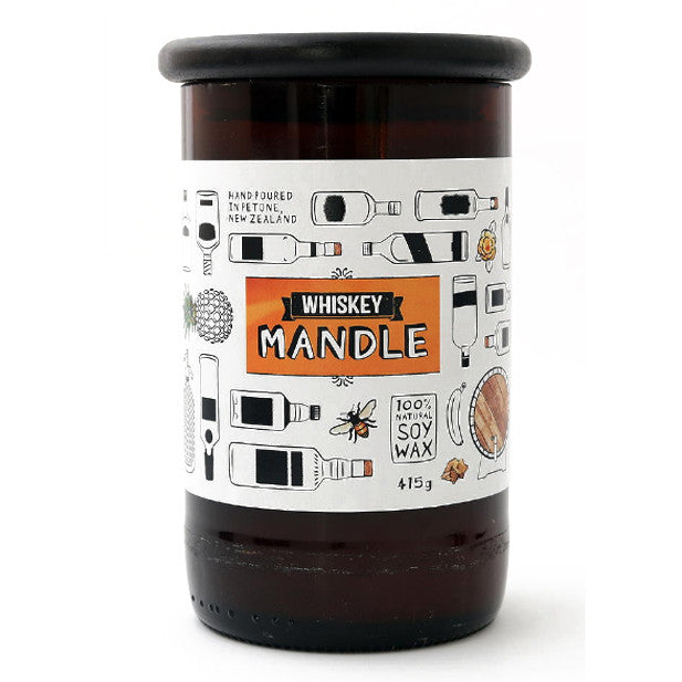 WHISKEY MANDLE candle Large