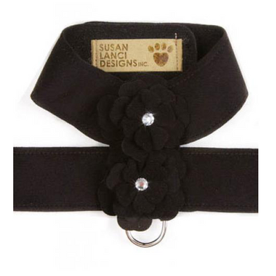 Black Garden Flower Harness