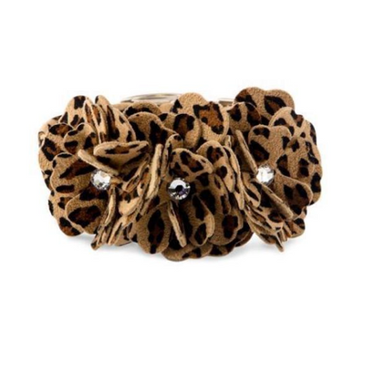 Cheetah Garden Flower Collar
