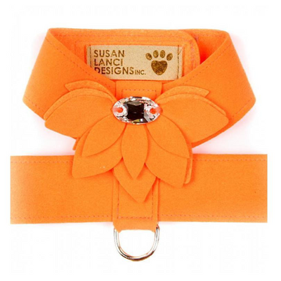 Orange Water Lily Velcro Harness