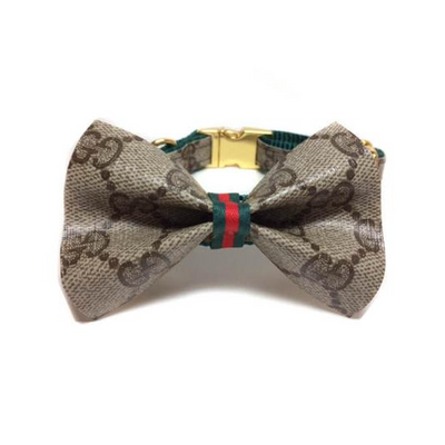 Gucci Bowtie Collar (Green/Gold)