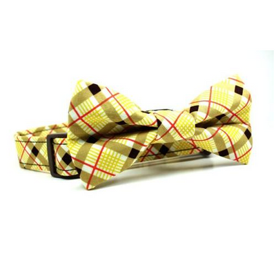 Retro Croquet Plaid Collar