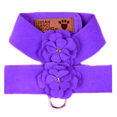 Violet Garden Flower Harness