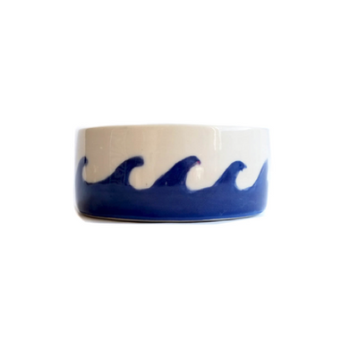 Waves Dog Bowl