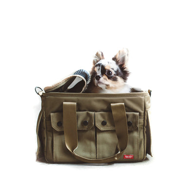 Olive Green Dog Carrier