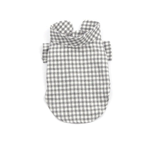 Gray Vanilla Check Shirt
