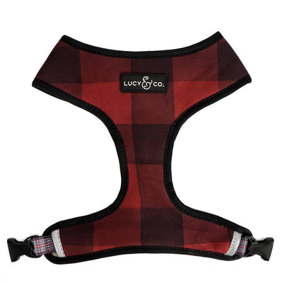 Plaid Reversible Harness