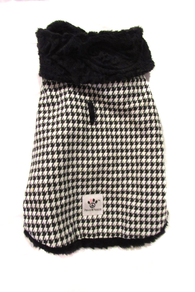 Black & White Houndstooth Jacket