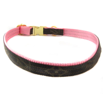 Louis Vuitton Pink Collar