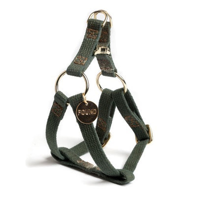 Olive Cotton Harness