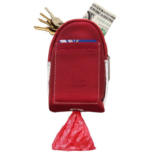 The Pooch Purse in Red