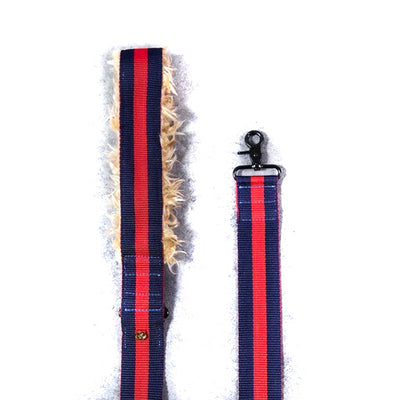 Rue St. Honore Leash with Fur