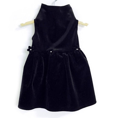The Black Velvet Dress