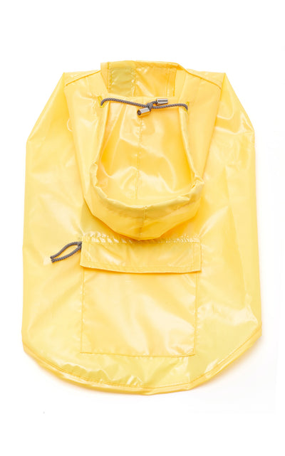 Yellow Seattle Raincoat