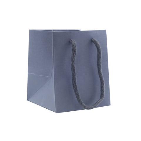 Small Gift Bag-Charcoal - Amber Packaging