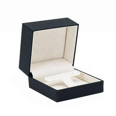 Drop Earring Box w/ Rigid Sleeve, Small, Serene Collection - Amber Packaging