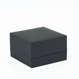 Double Ring Box w/ Rigid Sleeve, Serene Collection - Amber Packaging