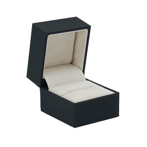 Single Ring Box w/ Rigid Sleeve, Serene Collection - Amber Packaging