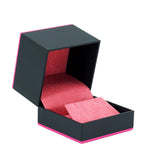 Earring Box w/ Color Trim, Supernova Collection - Amber Packaging