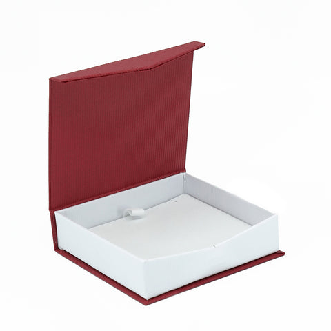 Pendant Box Euro Look Paper, Large, European Collection - Amber Packaging