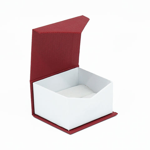Single Ring Box Euro Look Paper, European Collection - Amber Packaging