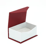 Double Ring Box Euro Look, European Collection - Amber Packaging