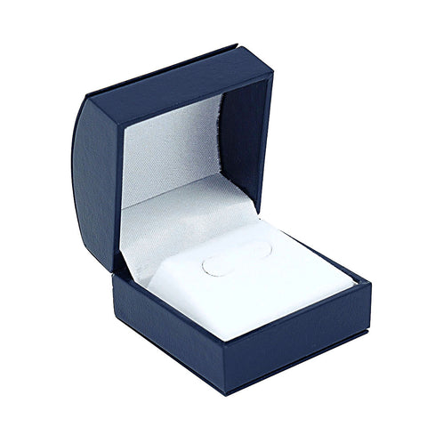 Stud Earring Box Domed, Elegant Collection - Amber Packaging