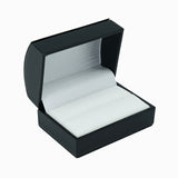 Double Ring Box Domed, Elegant Collection - Amber Packaging