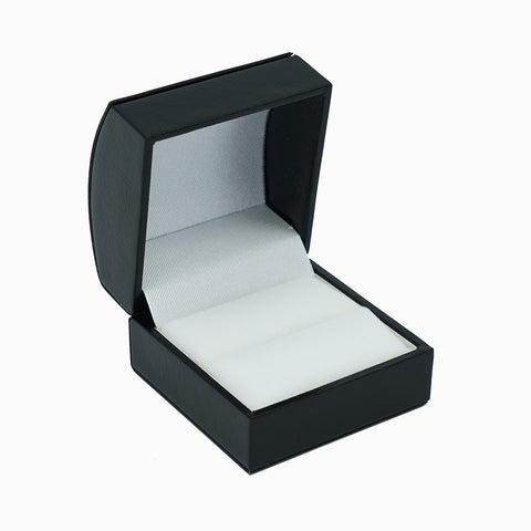Single Ring Box Domed, Elegant Collection - Amber Packaging
