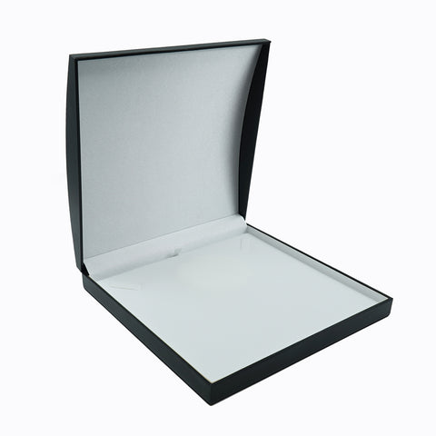Necklace Box Domed, Elegant Collection - Amber Packaging