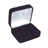 Double Ring Box Velour, Traditional Collection - Amber Packaging