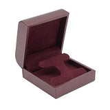 Drop Earring Box Metallic Textured, Galaxy Collection - Amber Packaging