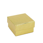 Ring Box Cotton Filled, Aurora Collection - Amber Packaging