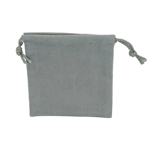 Medium Soft Suede Drawstring Pouch - Amber Packaging