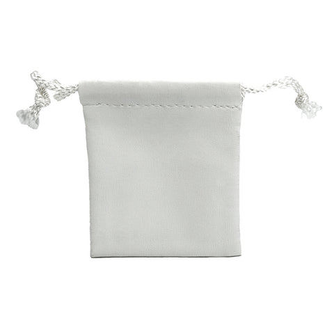 Small Leatherette Drawstring Pouch - Amber Packaging