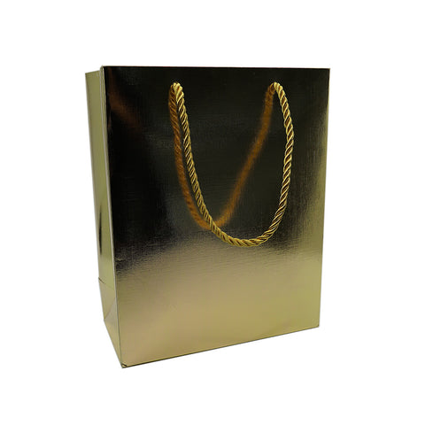 Large Gift Bag-Gold - Amber Packaging